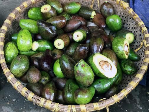 hoa quả thối, kỹ nghệ gọt hoa quả thối, chợ đầu mối long biên, dân buôn hoa quả, sinh tố bơ, hoa quả thối thành sinh tố thơm ngon