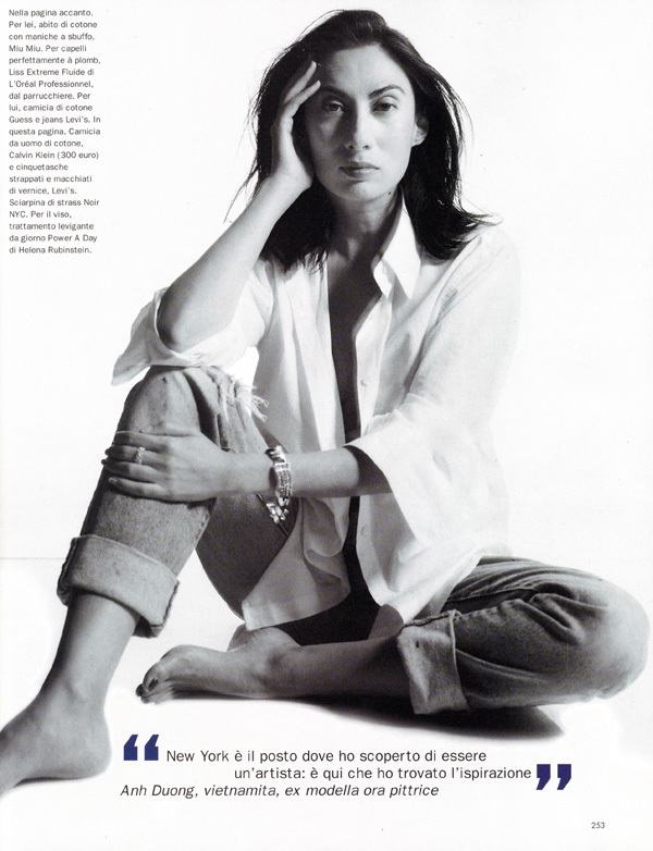 người mẫu gốc Việt, Anh Duong