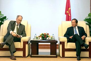 Khuyến khích Đức đầu tư vào thị trường CNTT Việt