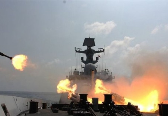 Biển Đông, Trung Quốc, Tàu chiến, Vụ kiện, tập trận