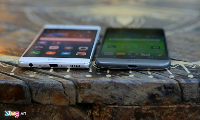so sánh cấu hình, Huawei P9, LG G5,