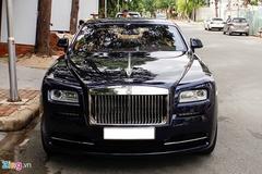 Rolls-Royce Wraith mới gia nhập bộ sưu tập xe của Cường Đô La