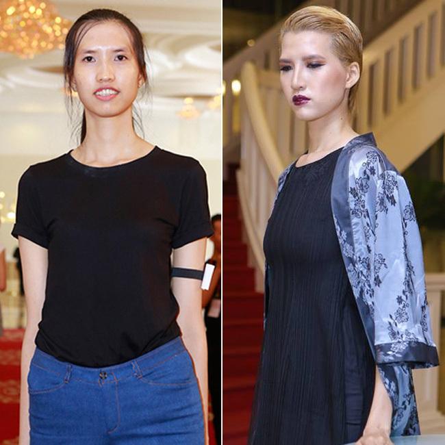 Hồng Xuân, Vietnam's Next Top Model, 1m90