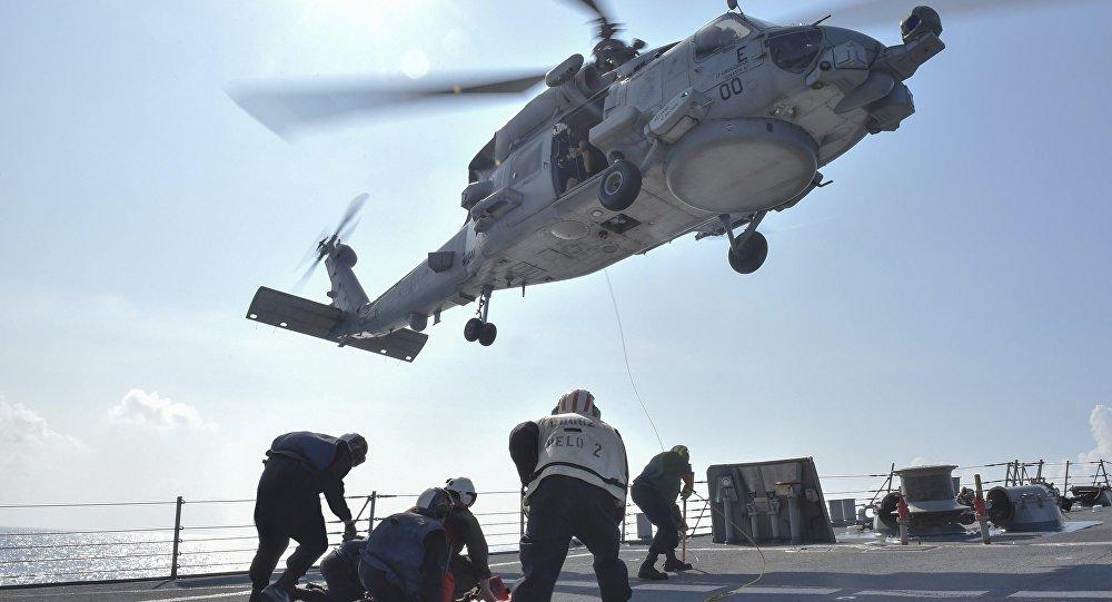 Mỹ điều quân viễn chinh đến biển Đông