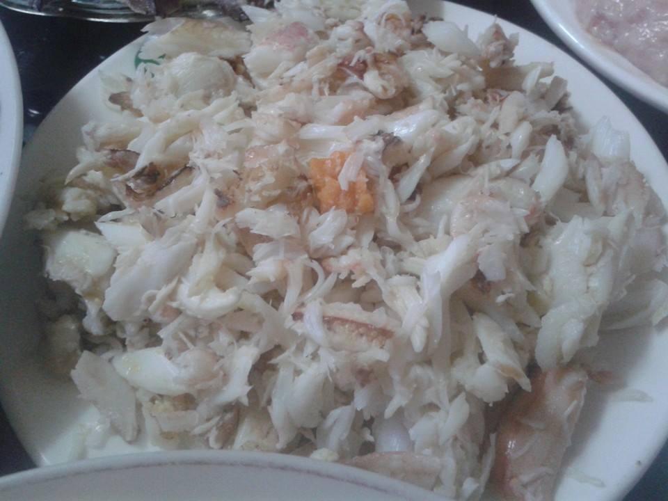thịt ghẹ, thịt ghẹ giá siêu rẻ, dân buôn hải sản, hà nội, thịt ghẹ hà nội