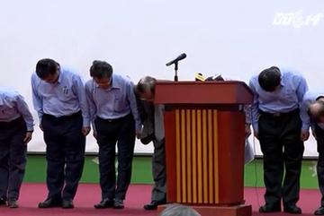 Formosa cúi đầu xin lỗi người Việt