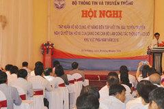 Tập huấn tuyên truyền về Nghị quyết Đại hội lần thứ XII của Đảng