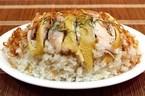 Thịt gà ăn kỵ với cơm nếp, muối vừng