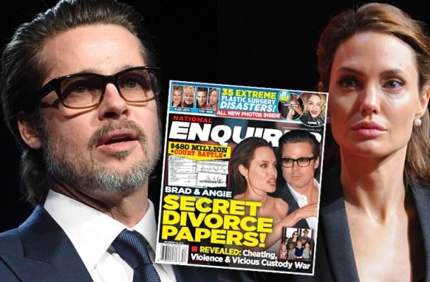 Angelina Jolie, Brad Pitt, ly dị