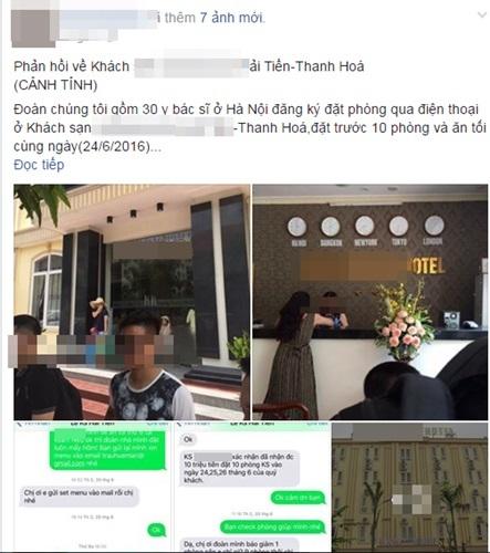 Kiểm tra khách sạn Thanh Hóa có hành vi đuổi khách