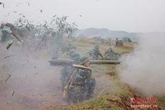 Sư đoàn 324 diễn tập thực binh bắn đạn thật