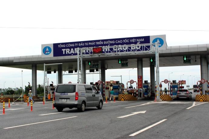 thu phí cao tốc, Thử nghiệm thu phí tự động,  ao tốc Cầu Giẽ - Ninh Bình, Tổng công ty Đầu tư và Phát triển đường cao tốc Việt Nam,Tổng công ty VEC