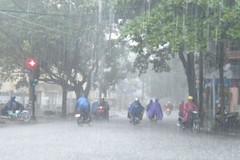 Miền Bắc hứng mưa dữ dội