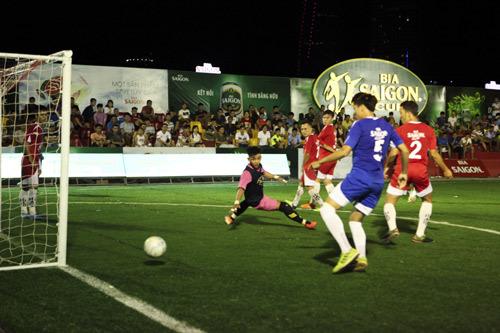Cúp Bia Sài Gòn: giải bóng đá phủi chuyên nghiệp