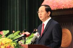 Chủ tịch nước mong TP.HCM sớm thành trung tâm kinh tế lớn