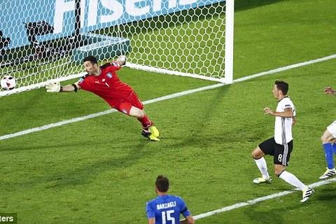 Video bàn thắng Đức 1-1 Italia (Pen 6:5)
