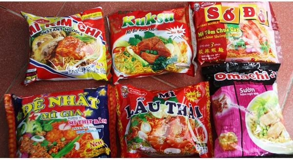 Việt Nam ăn mì tôm nhiều thứ 4 thế giới