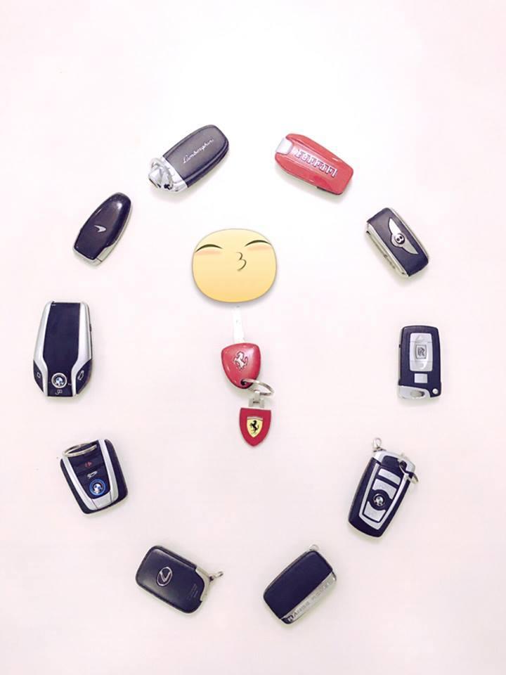 siêu xe, Phan Thành, ô tô, xe máy, thếu gia, Midu, chơi xe, sưu tập,