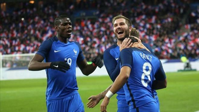 Đội tuyển Pháp, Iceland, EURO 2016, đội tuyển Anh