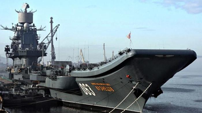 Uy lực siêu tàu chiến Putin điều đi diệt IS