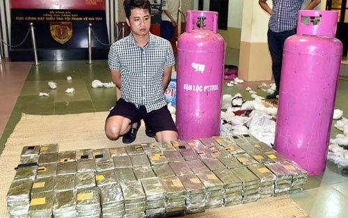 Trùm ma túy liều lĩnh tạo kho chứa hàng ở Hà Nội