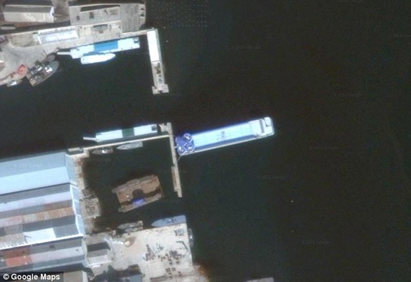 Triều Tiên, cung điện, Kim Jong-un, du thuyền, tàu, giải trí, ảnh vệ tinh