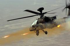 Xem trực thăng Thủy quân lục chiến Mỹ bắn phá