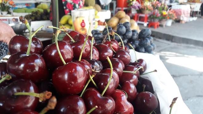 mua cherry nhập dễ bị lừa, cherry nhập khẩu, trái cây ngoại, trái cherry, cherry trung quốc giá rẻ, cherry Mỹ