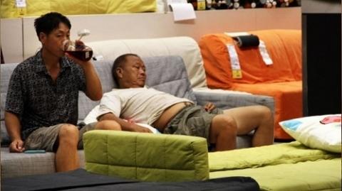 Xấu hổ với cách chống nóng mới của người Bắc Kinh