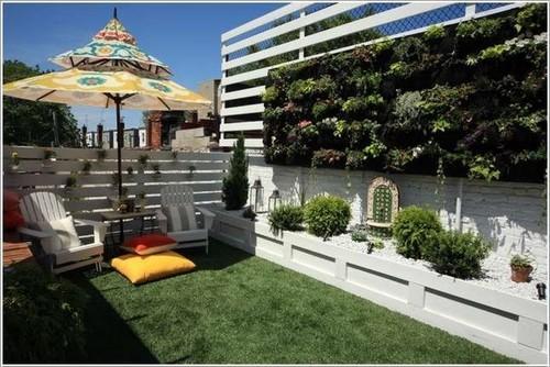 thiết kế vườn tường, thiết kế nhà, vườn hoa ban công, nhà đẹp