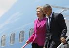 Hillary bay nhờ Không lực 1, Trump vặn 'ai trả tiền?'