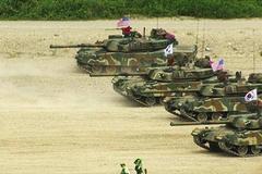 Xem lính Mỹ, Hàn tập trận bắn đạn thật