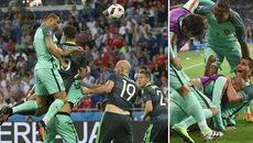 Những khoảnh khắc chói sáng của CR7 tại trận bán kết EURO