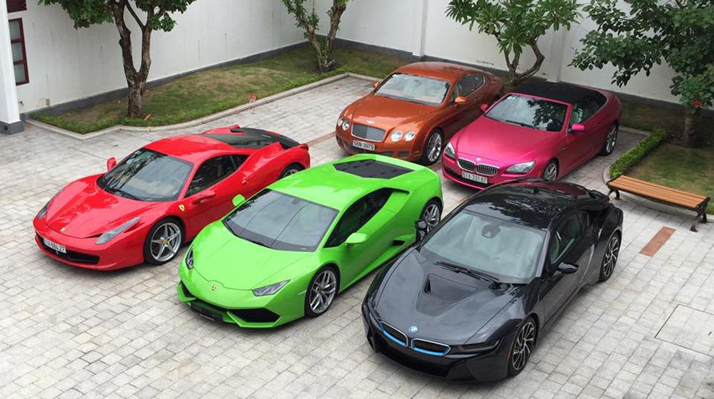 12 tháng, gia đình thiếu gia Phan Thành chi hơn 100 tỷ mua xe