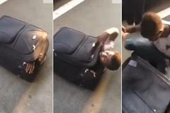 Phát hiện cực sốc trong chiếc vali vô thừa nhận