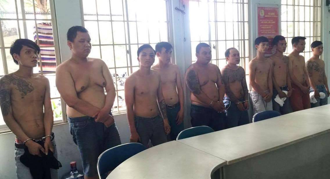 Bắt giang hồ bảo kê, cho vay nặng lãi ở Sài Gòn
