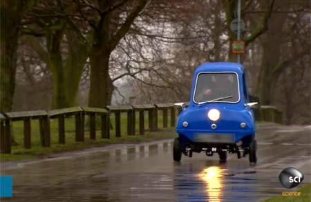 Xe hơi nhỏ nhất thế giới, tốc độ tối đa 65 km/h