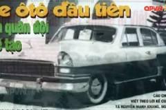 Chiếc ô tô quân sự đầu tiên do Việt Nam sản xuất