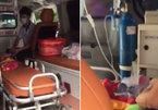 Vụ chặn xe cấp cứu: 'Bé tử vong trước khi rời bệnh viện'