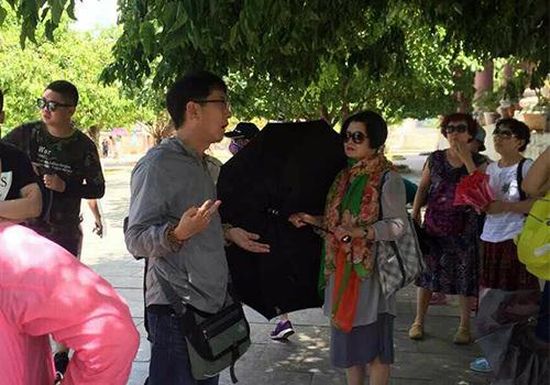 Hướng dẫn viên du lịch, du lịch, danh lam thắng cảnh, Đà Nẵng, Hội An, Hướng dẫn viên chui, Khách du lịch TQ