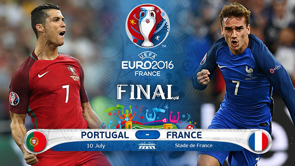 Cristiano Ronaldo, Ronaldo, Antoine Griezmann, Griezmann, Pháp, Bồ Đào Nha, EURO 2016, chung kết EURO 2016