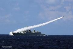 Trung Quốc bắn tên lửa trong cuộc tập trận ở Biển Đông