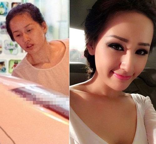Không nhận ra Hoa hậu Mai Phương Thuý khi chưa trang điểm