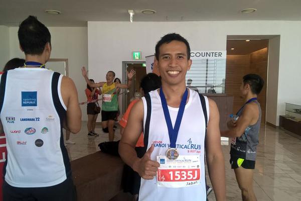 Cuộc thi chạy bộ chinh phục tòa nhà cao nhất Việt Nam