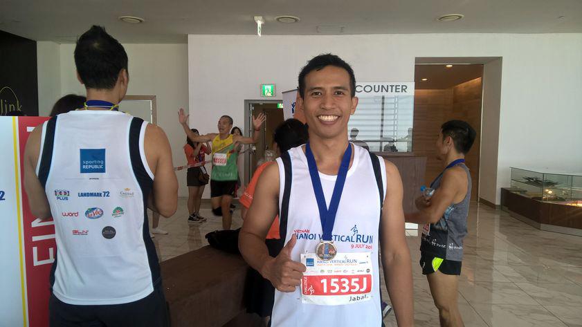 chạy bộ, Keangnam 72