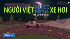 5 lý do người Việt nên mua xe hơi khi đủ tiền