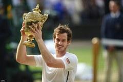 Hạ cây sào Raonic, Murray lần thứ 2 vô địch Wimbledon