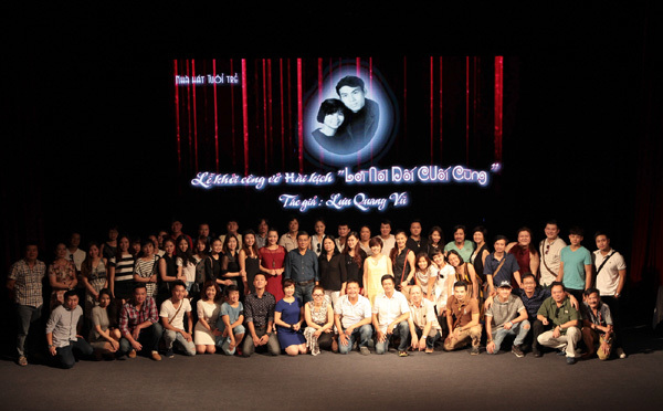 Chí Trung tiếp tục dựng kịch Lưu Quang Vũ