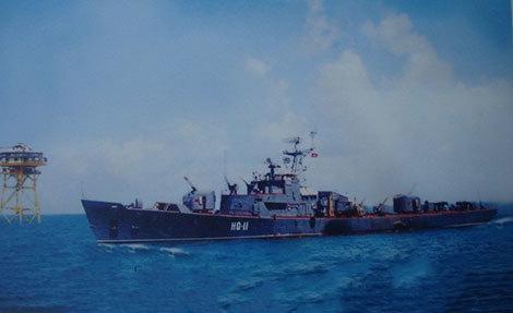 hải quân việt nam, giải cứu phi công mỹ, trường sa