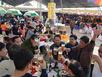 Thực khách Bắc Giang 'giải nhiệt' cùng bia Hà Nội